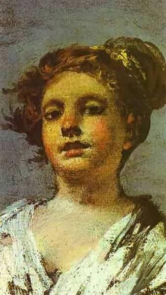 Girl with a jug aguadora detail szepmuveseti muzeum bud